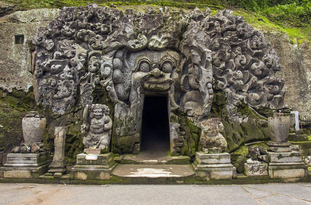 Goa Gajah eller Elephant Cave