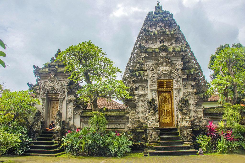 tempel i Ubud