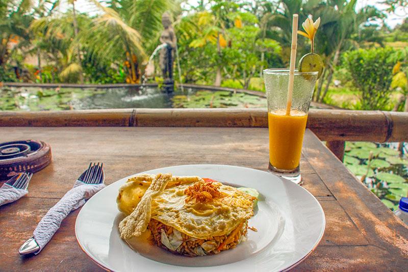 caféer, spisesteder og restauranter i Ubud, Bali