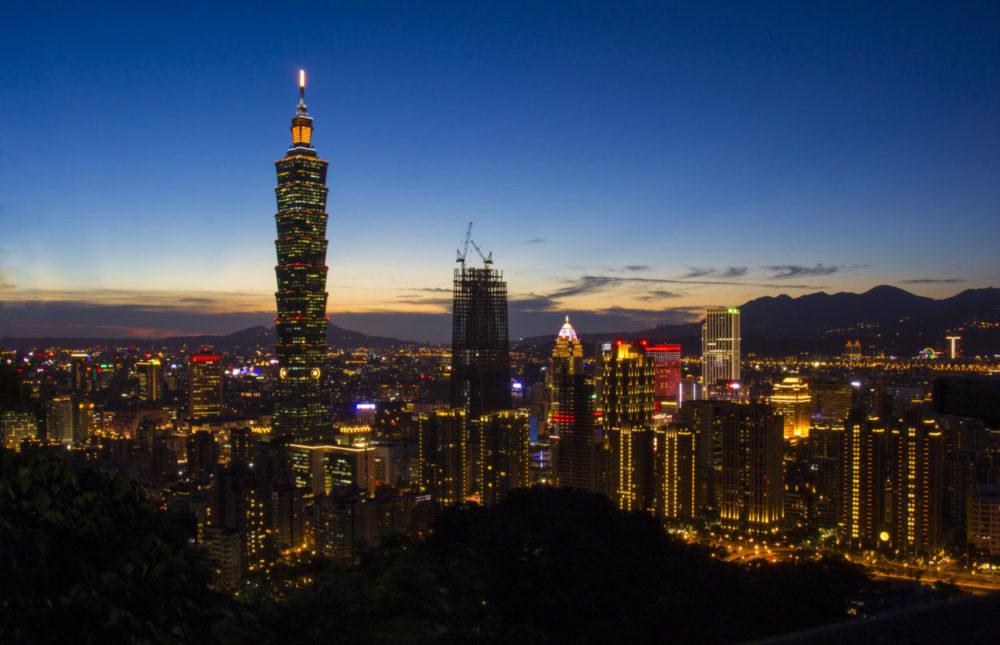 Det bedste udsigtspunkt i Taipei, Taiwan