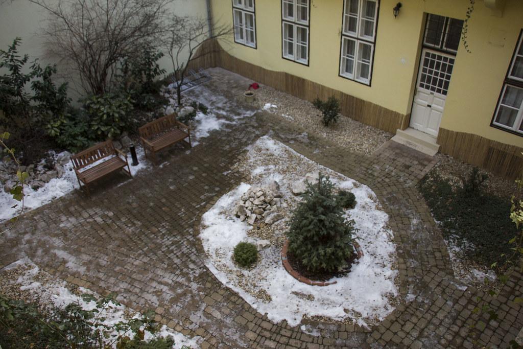 gårdhave i budapest