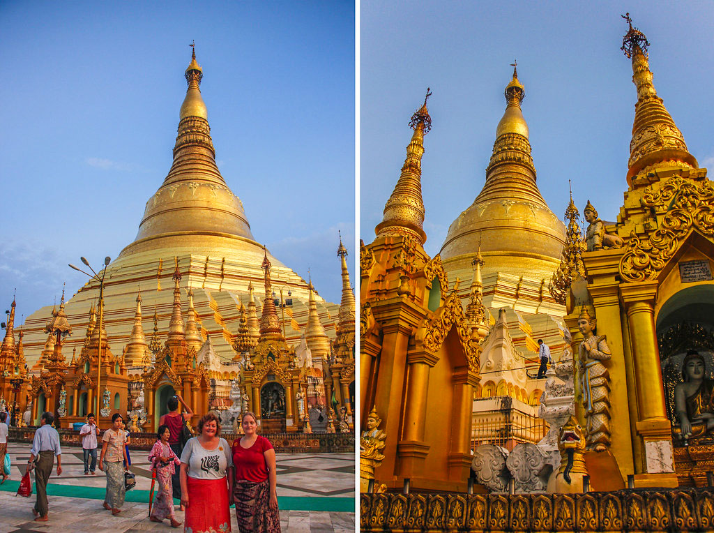 Shwedagon Pagoden i Yangon