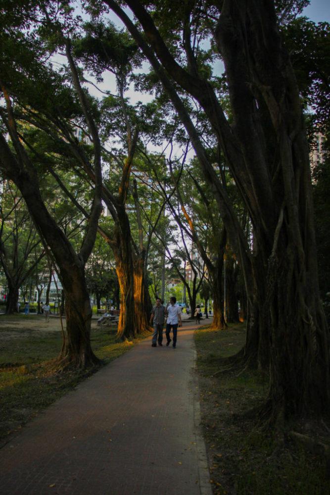 Xiangshan park, Taipei, Taiwan