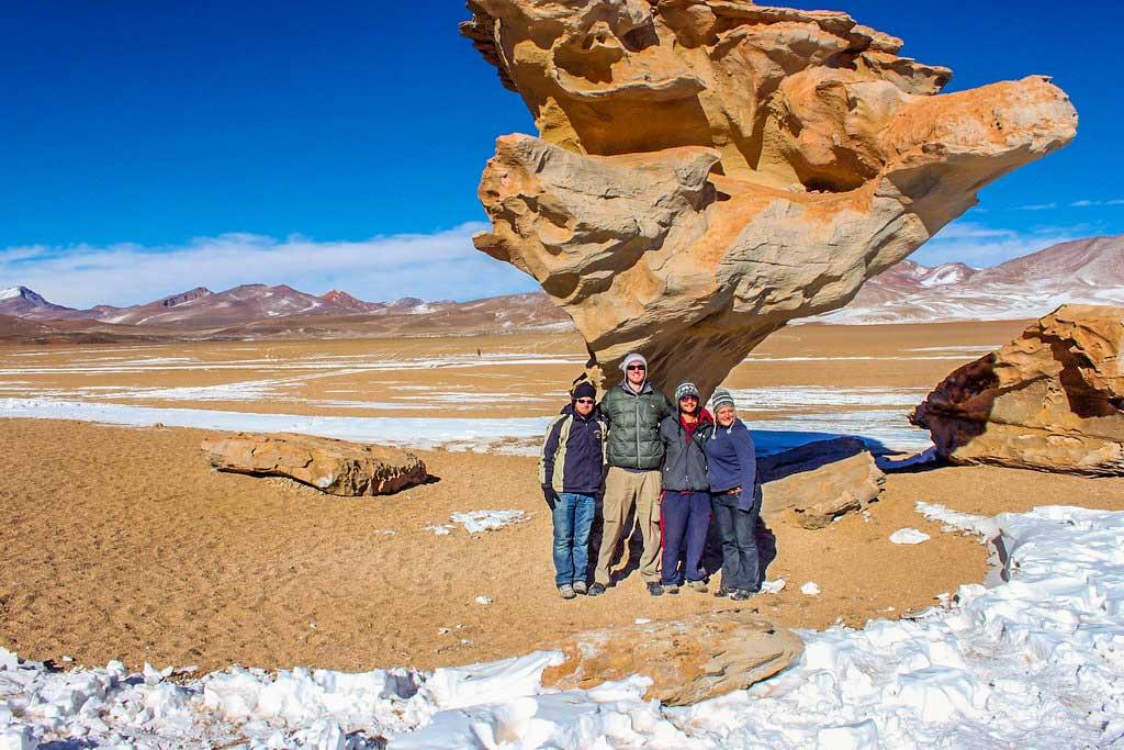 Dali ørkenen i Bolivia