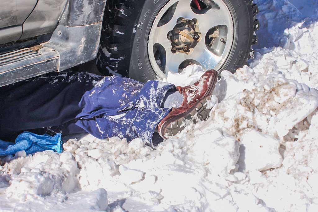 ulykke på vej til Salar de Uyuni