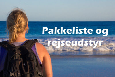 pakkeliste til backpacking