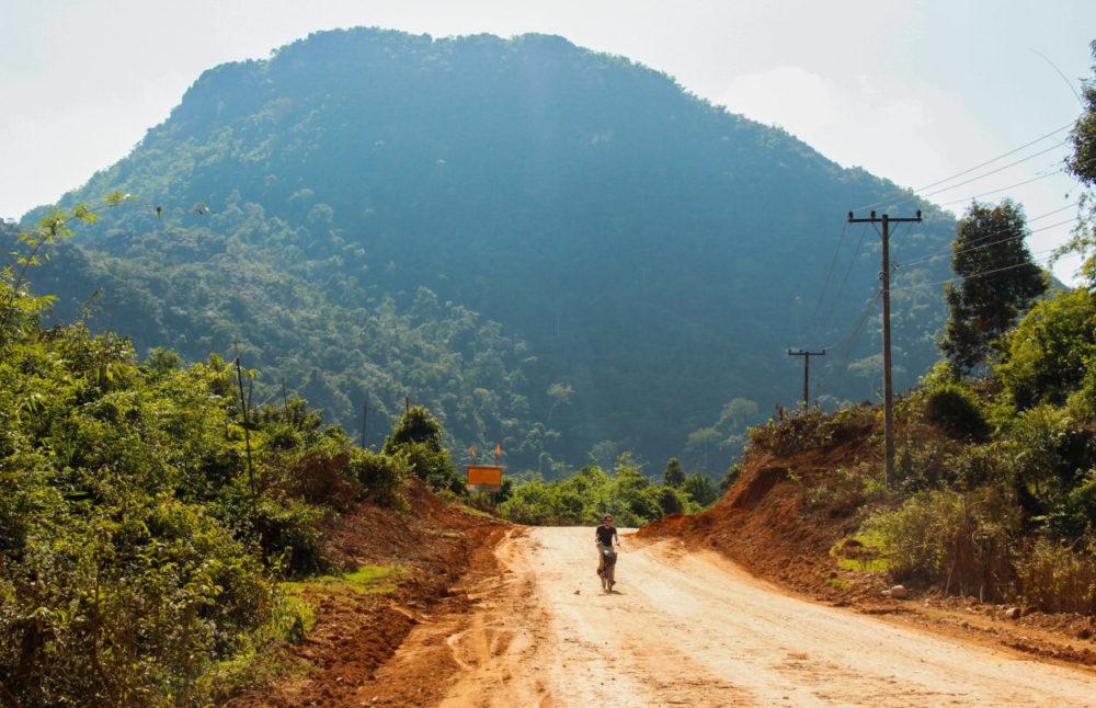 Vang Vieng i Laos