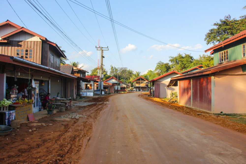 Det lokale liv i Laos