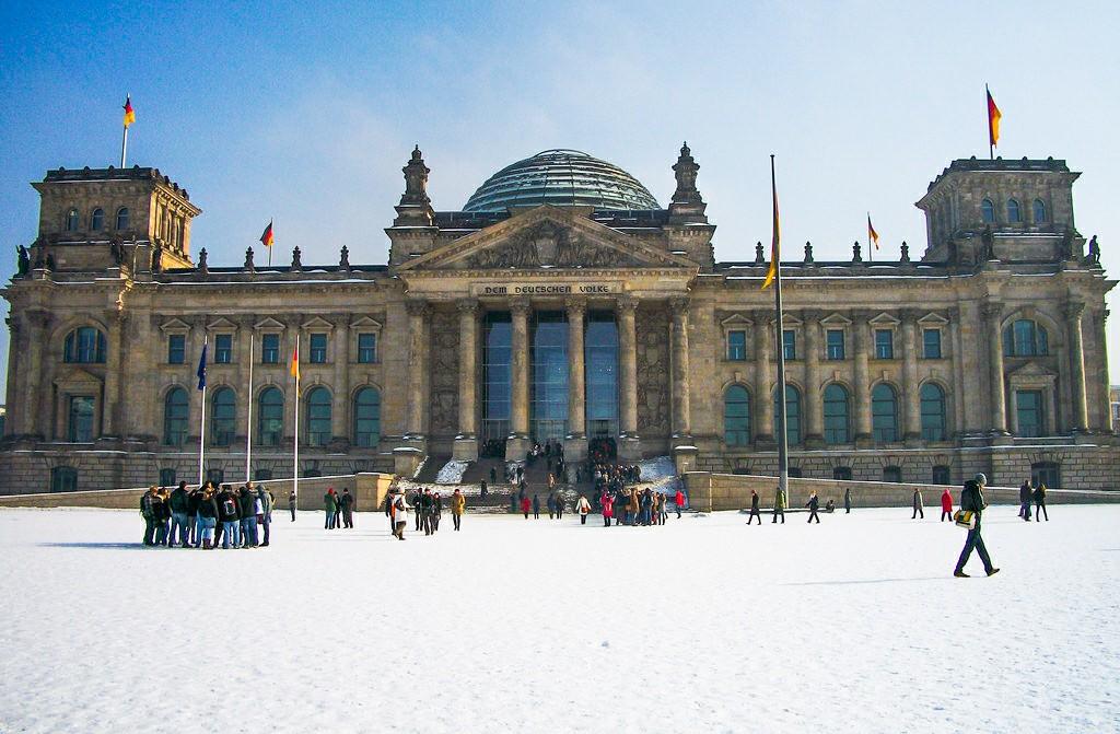 reichstag - Tysklands parlament