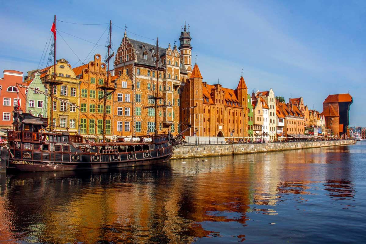 En forlænget weekend i Gdansk, Polen