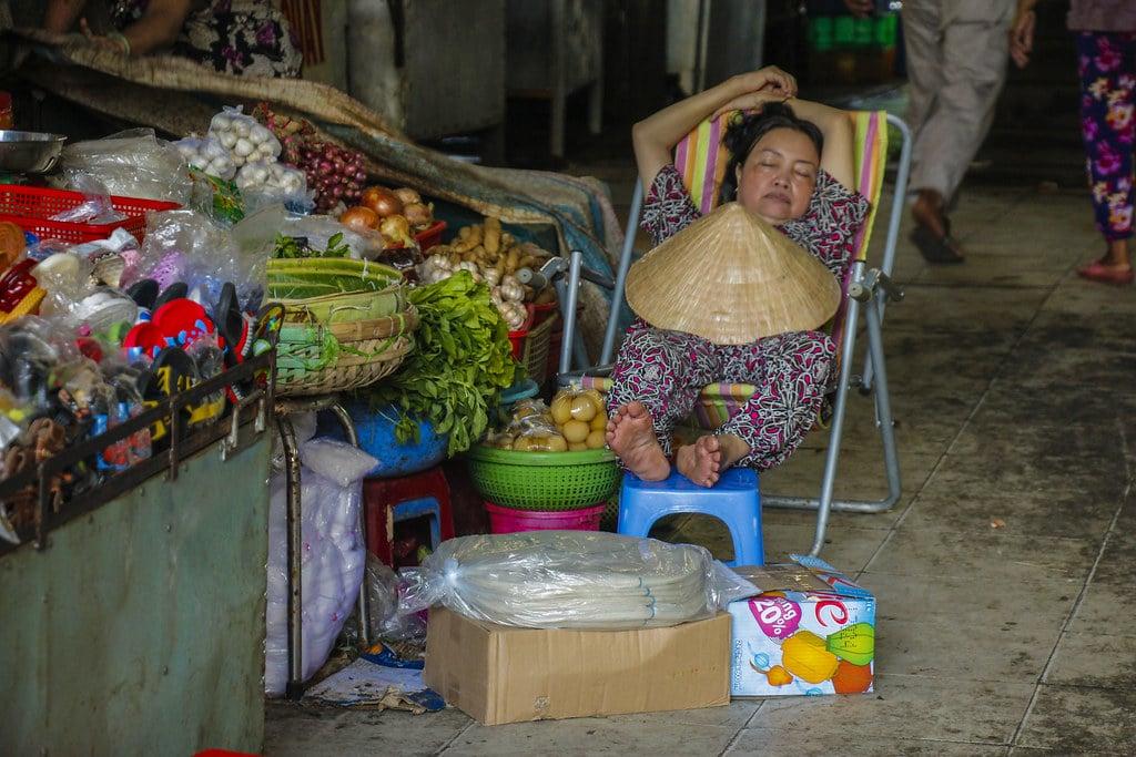 vietnameser på arbejde
