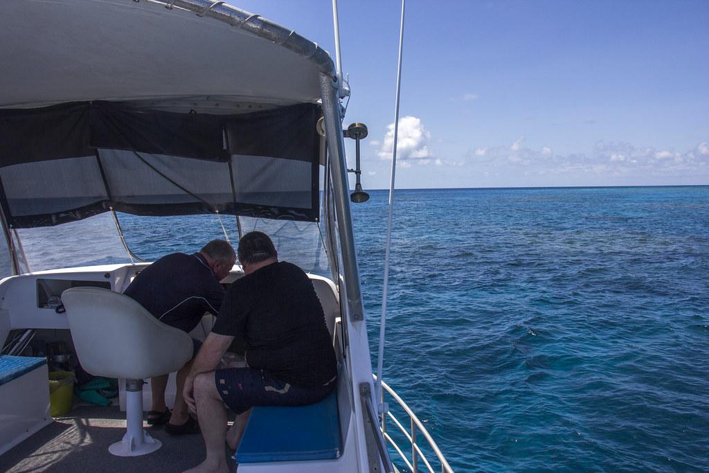 sejltur på Great Barrier Reef