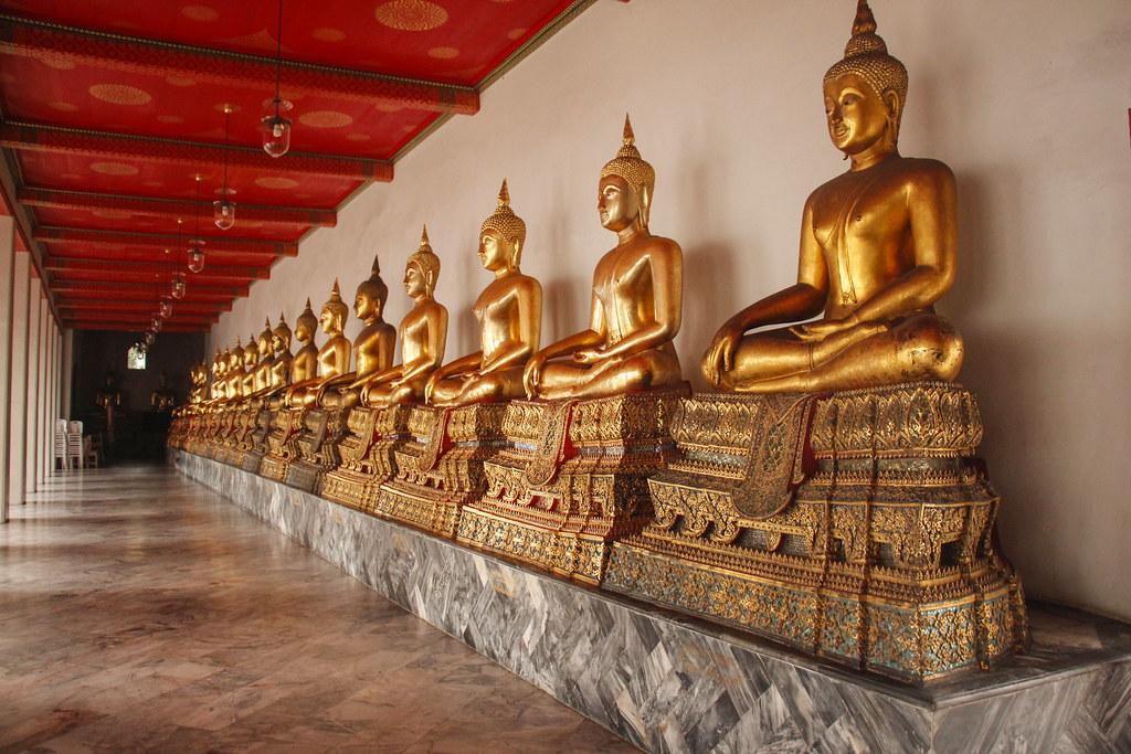 wat pho temple i Bangkok