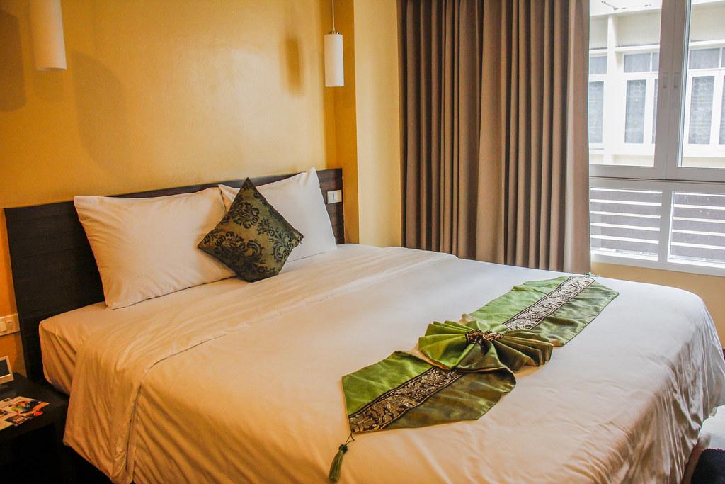 billigt hotel i Bangkok