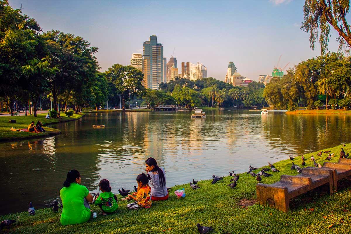 lumbini park, bangkok