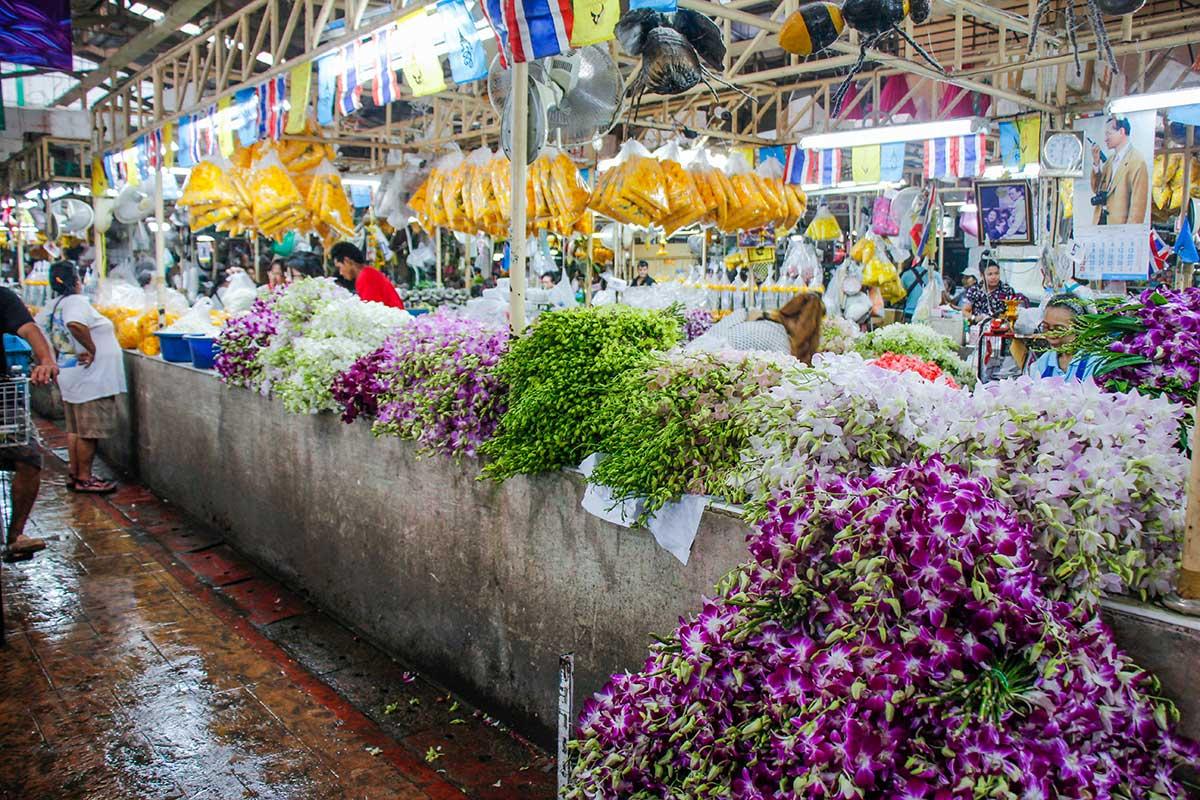 blomstermarked bangkok