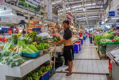 markeder i Bangkok