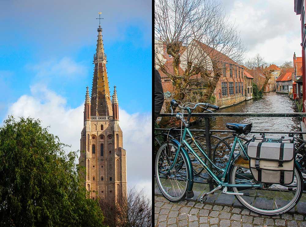 kirke i brugge, belgien