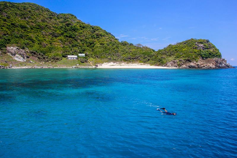 snorkeling i Vietnam