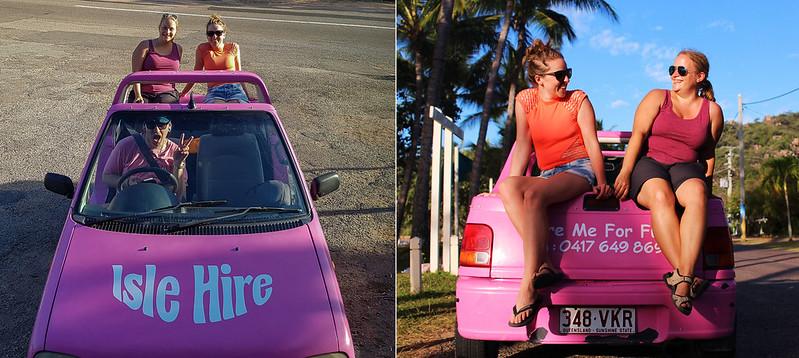barbie bil på Magnetic island