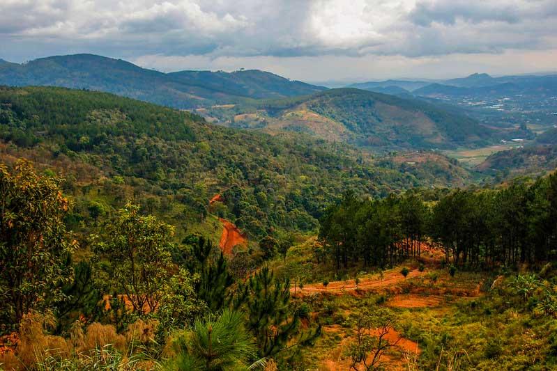dalats bjerge