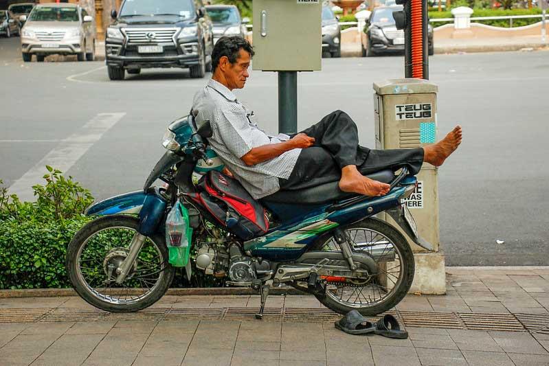 motorcykel i HCMC