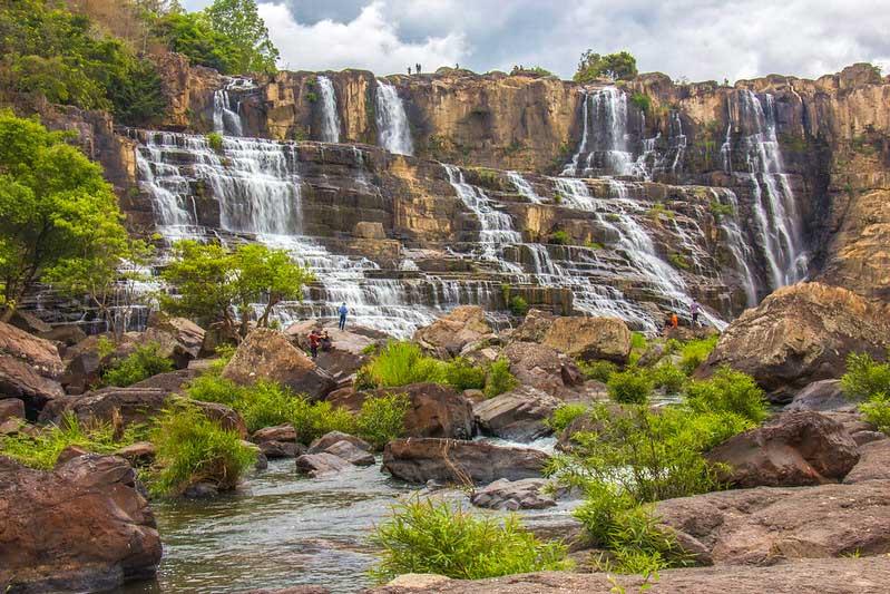 vandfald i Dalat