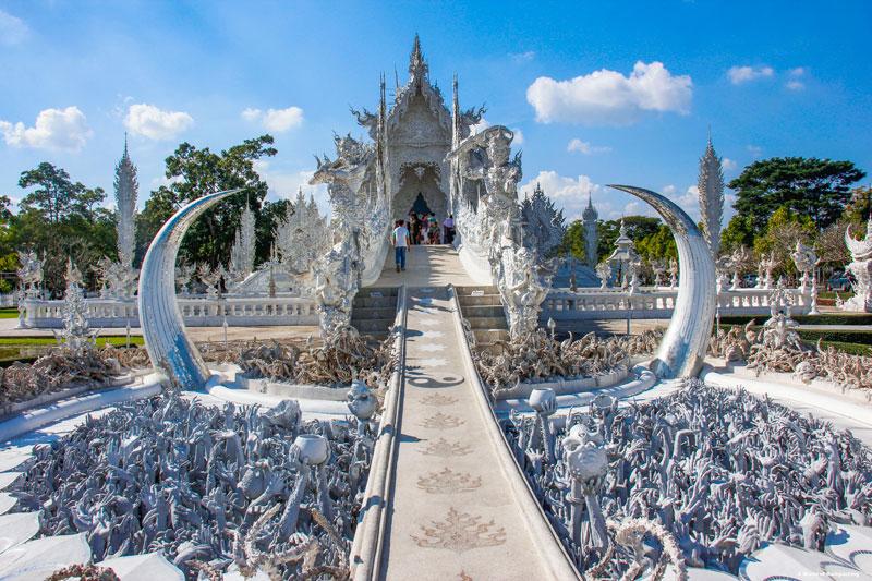 White Temple i Chiang Rai