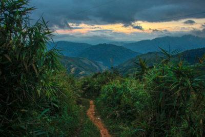 Bjerge i Laos