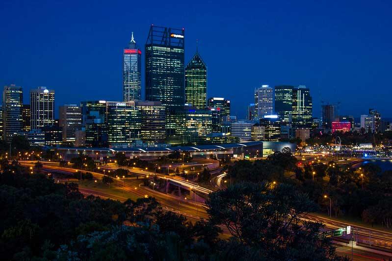 udsigtspunkter i Perth