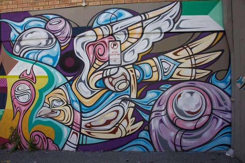 street art i Perth