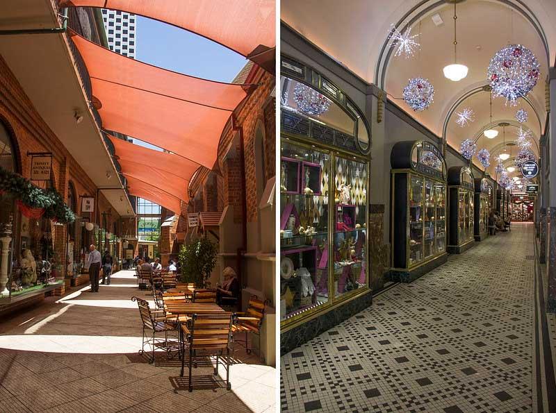 Perths arkader og Laneways