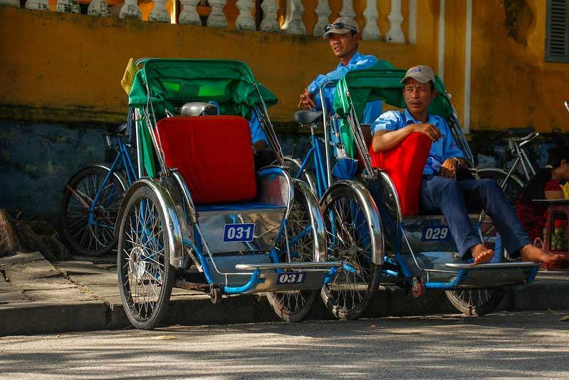 cykeltaxaer i Hoi AN