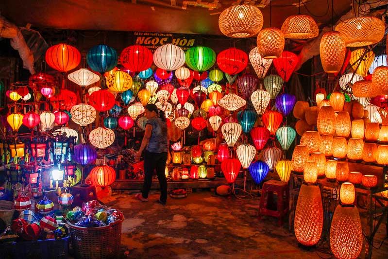 lanterner i Hoi An