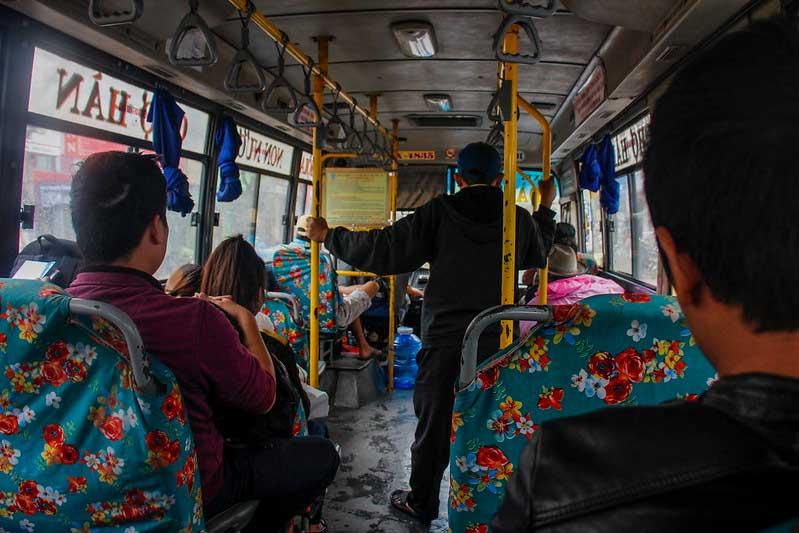 den lokale bus mellem Da Nang og Hoi AN