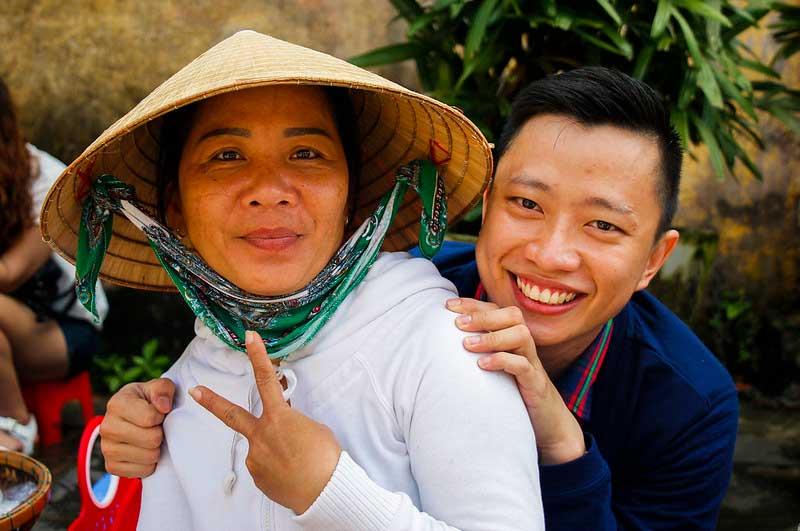 lokale vietnamesere i Hoi An