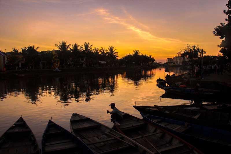 floden i Hoi An