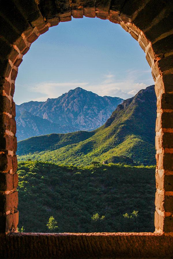 vagttårn på den kinesiske mur