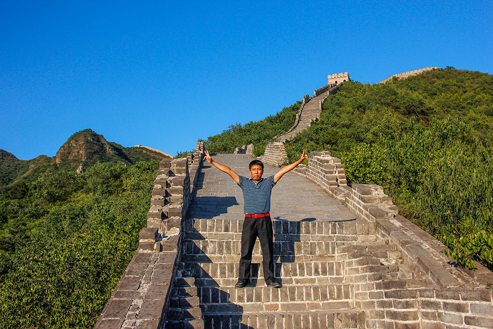 couchsurfing i kina