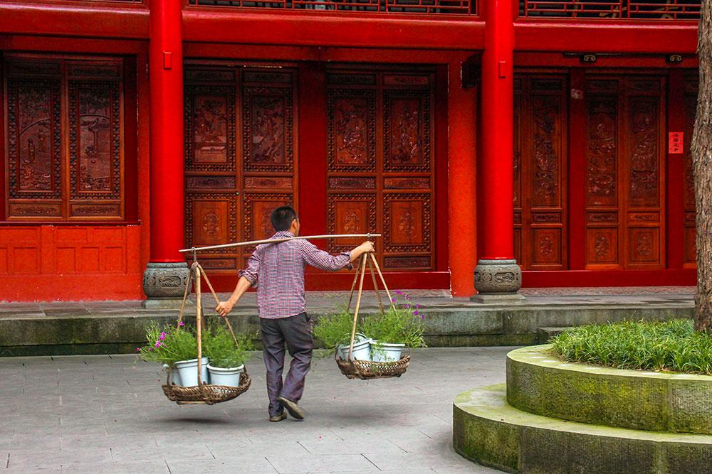 kinesisk kloster, leshan