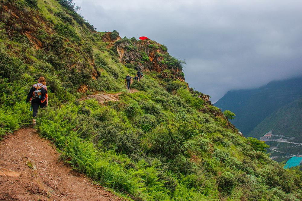 vandring i Yunnan