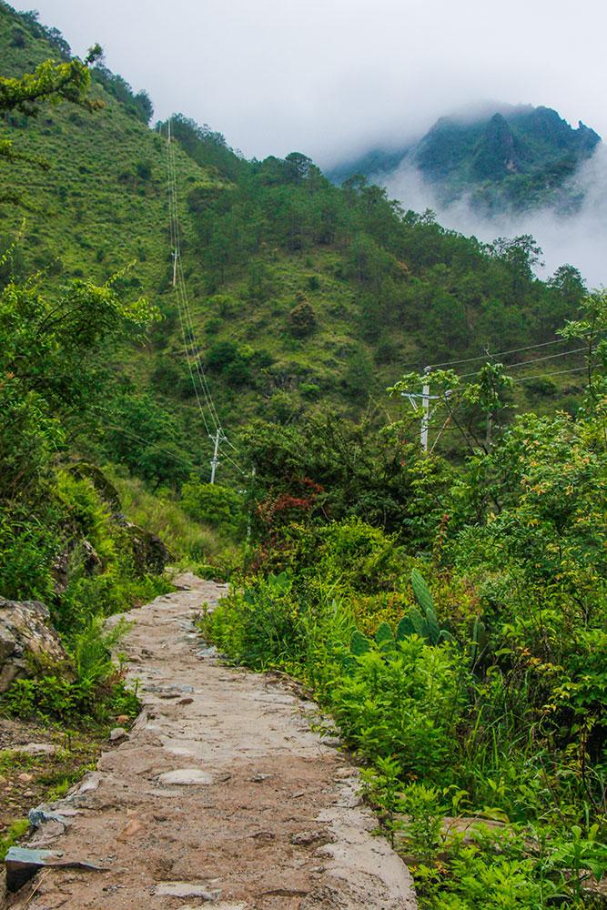 bjerge i Yunnan-provincen