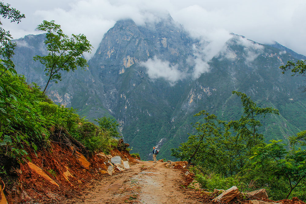 bjerge i yunnan, kina