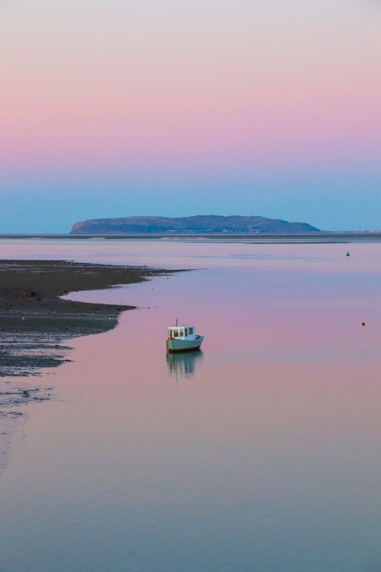 Solnedgang på Anglesey