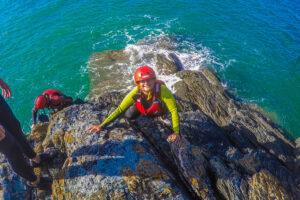 coasteering i wales