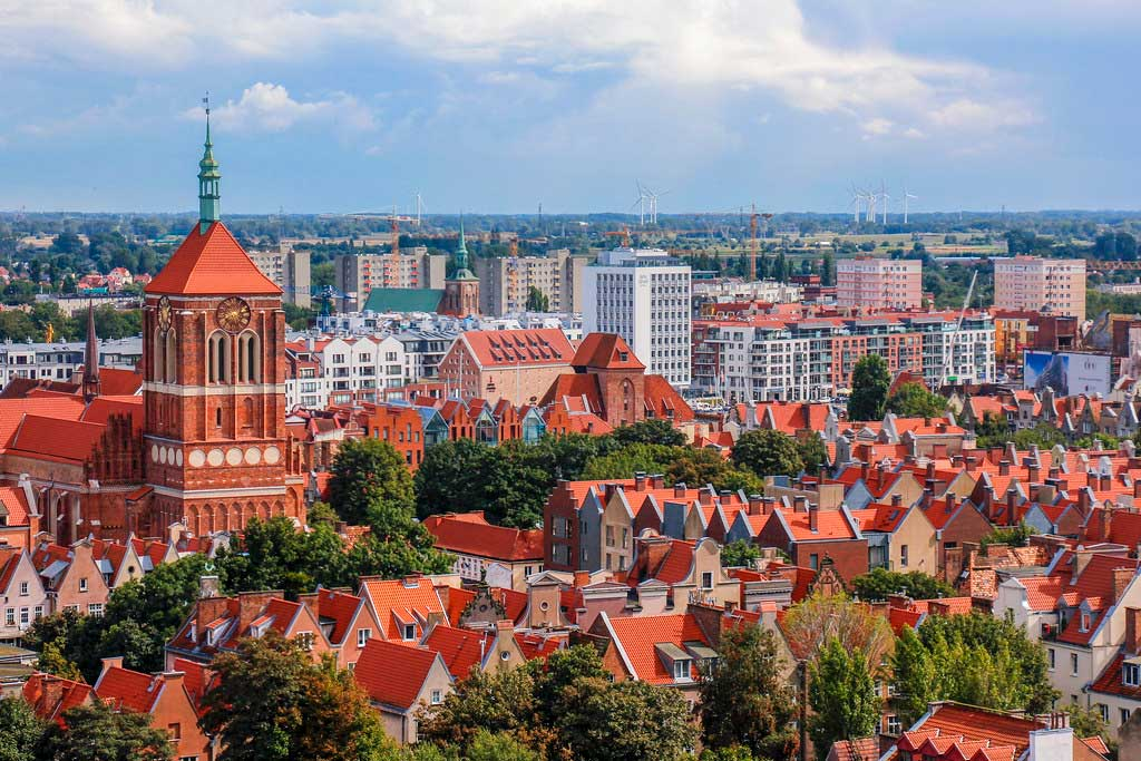 kirke i Gdansk