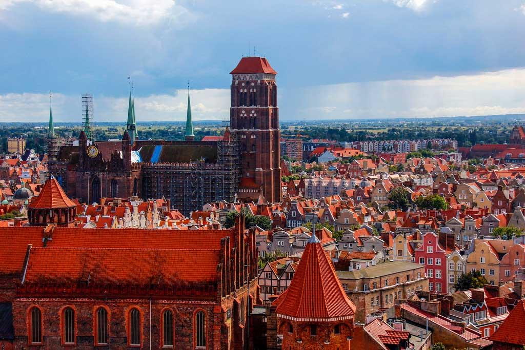 den bedste udsigt i Gdansk