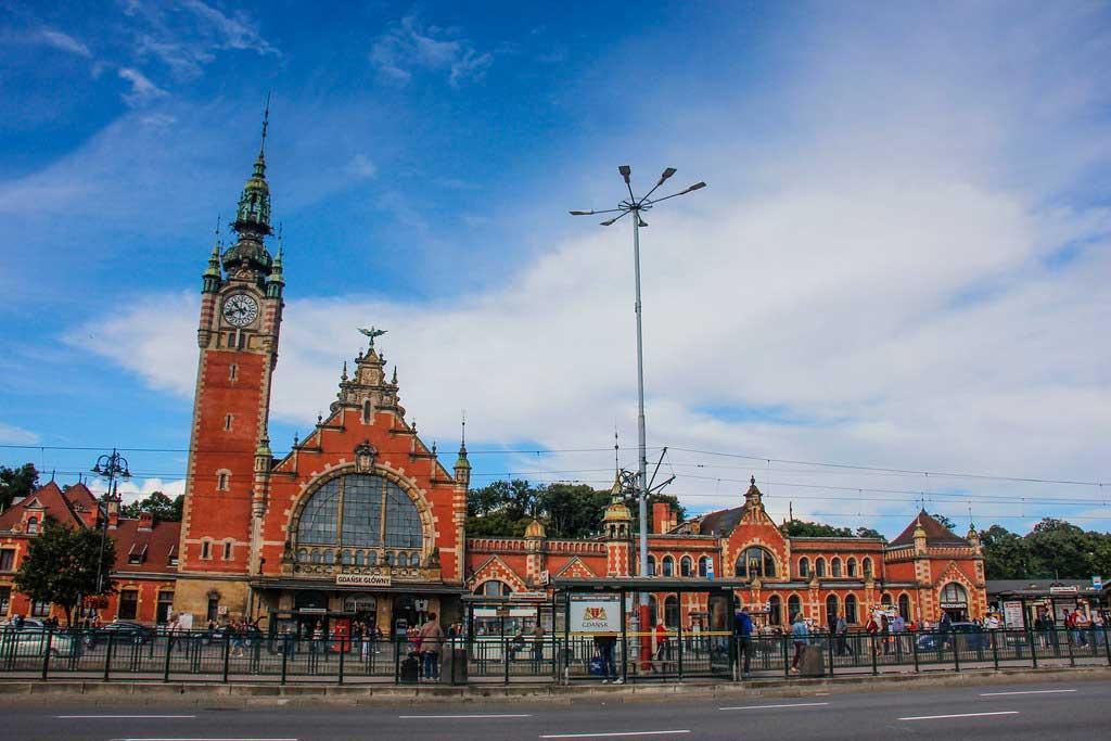 togstation i Gdansk