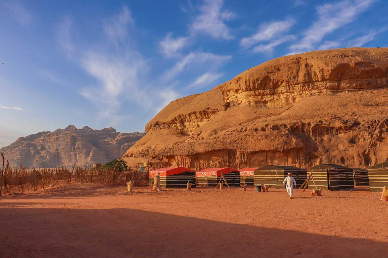 caravans camp, Wadi Rum
