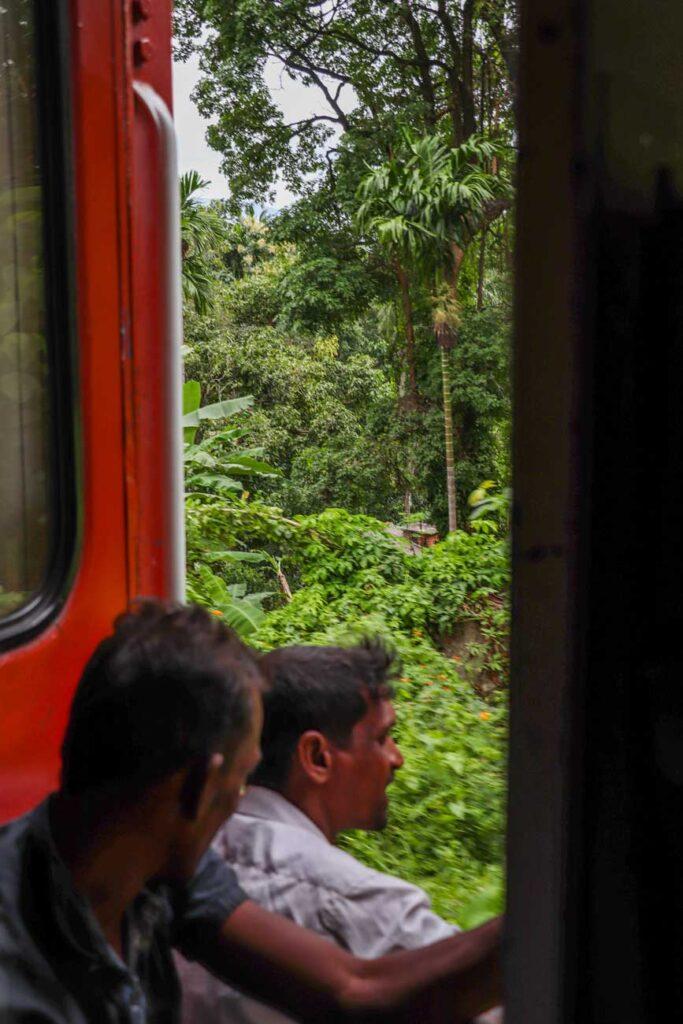toget i Sri lanka